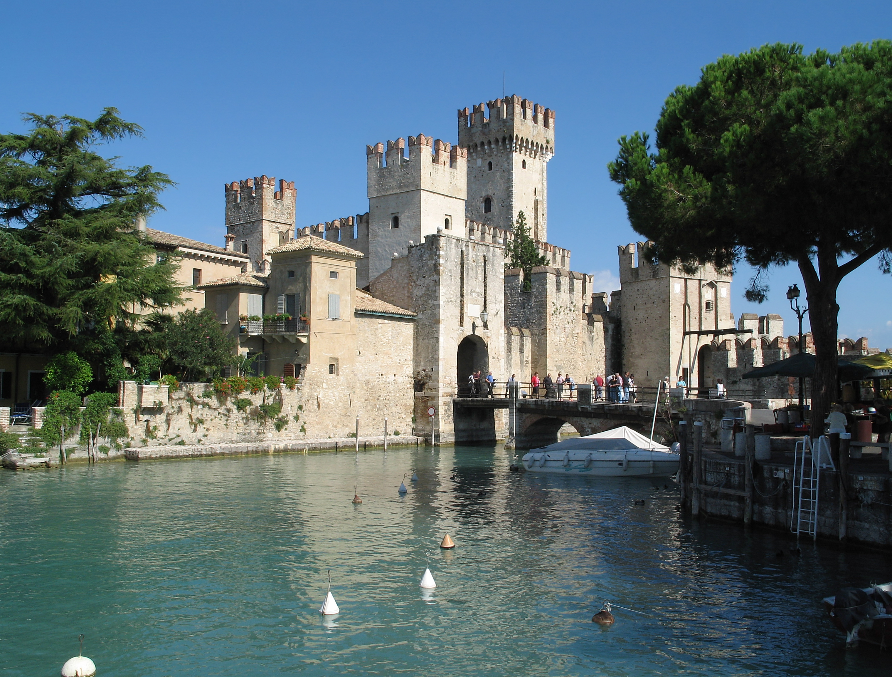 Photo of Rocca Scaligera in Sirmione (Lombardije)